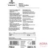 ACRA Information on 750ml kitchen cleaner sanitiser n