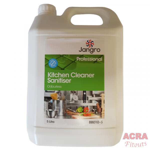 Jangro Professional Kitchen Cleaner Sanitiser - ACRA