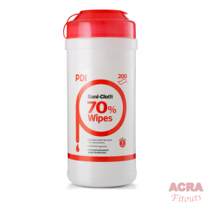 ACRA PDI Sani Cloth 200 wipes