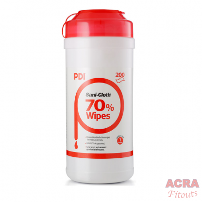 ACRA PDI Sani Cloth 200 wipes