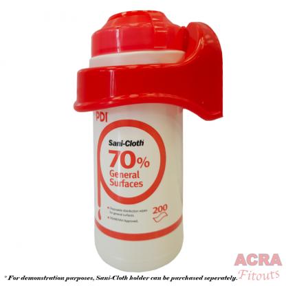 PDI Sani Cloth 70% wipes x 200 with holder ACRA