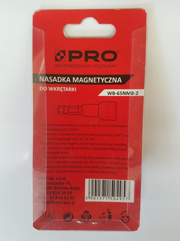 PRO Magentic Fittings for Screwdriver ACRA