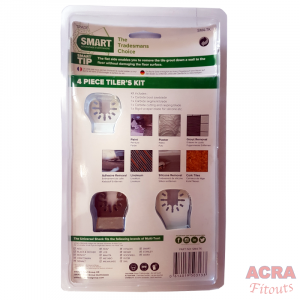 4pc Tilers Kit ACRA