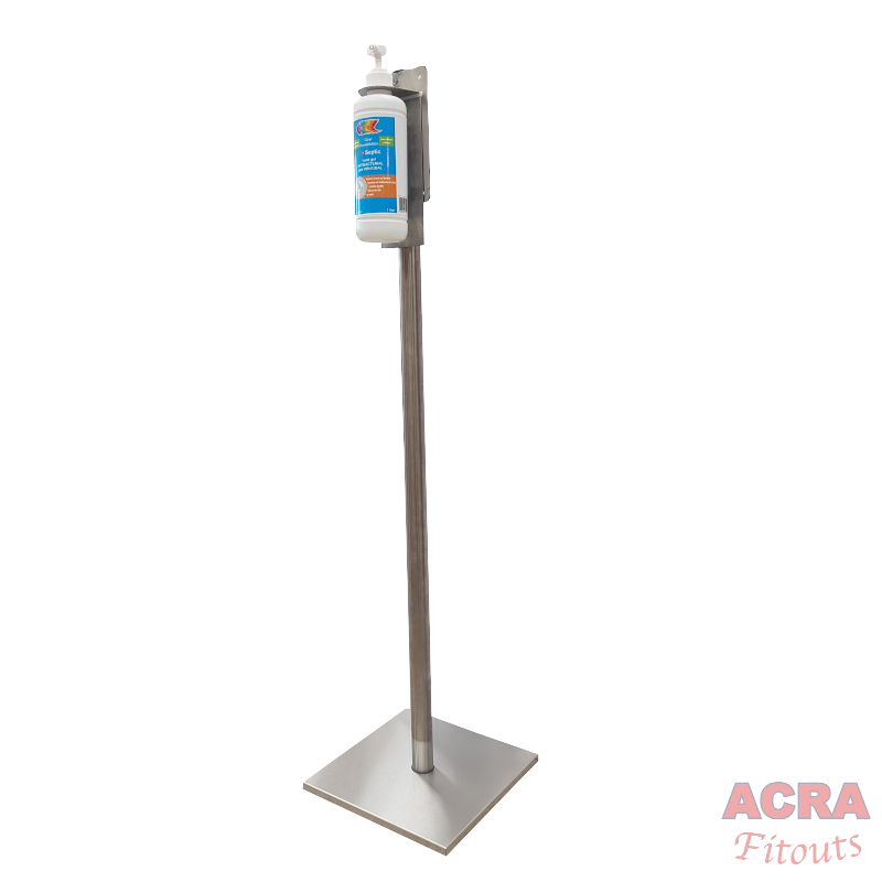 Sanitiser Bracket With Stand – 3