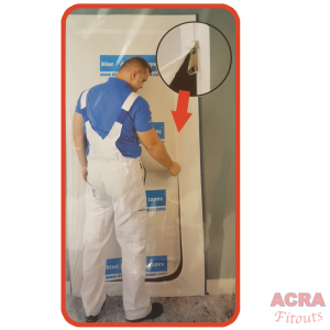 Anti-dust-curtain ACRA