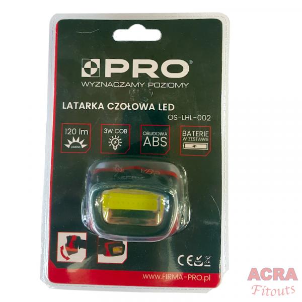 PRO Headlamp ACRA