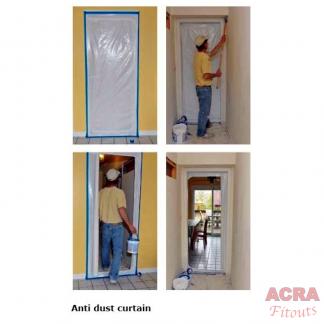 Anti-dust-curtain ACRA