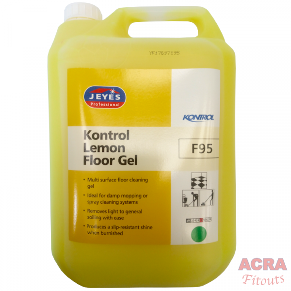 Jeyes Professional Kontrol Lemon Floor Gel ACRA