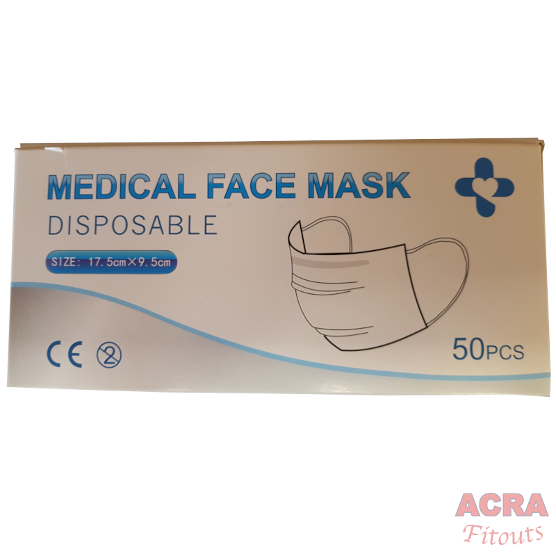 TUV Approved 3 Layer Disposable Mask-1