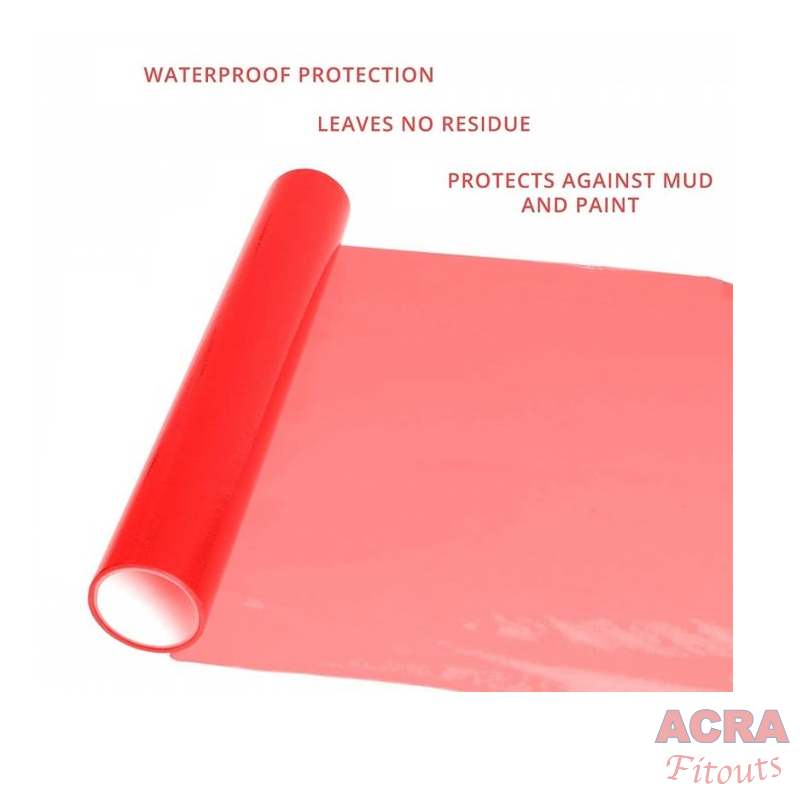 red protection flooring