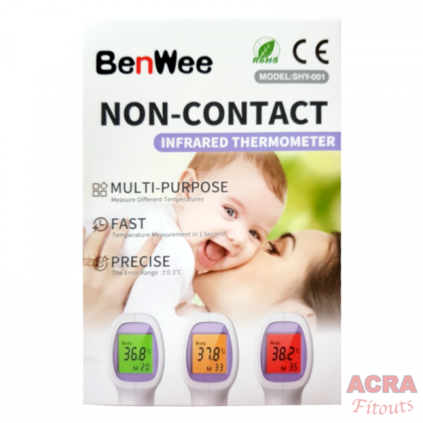 BenWee non-Contact Infrared Thermometer-ACRA