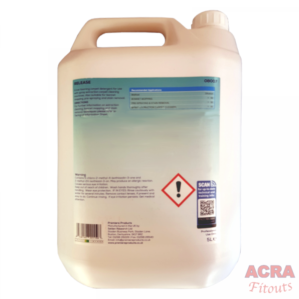 Premier Products Release extraction carpet cleaner-ACRA