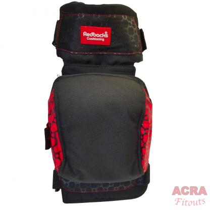 Redbacks Strapped Knee Pads - ACRA