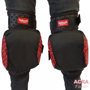 Redbacks Strapped Knee Pads-3
