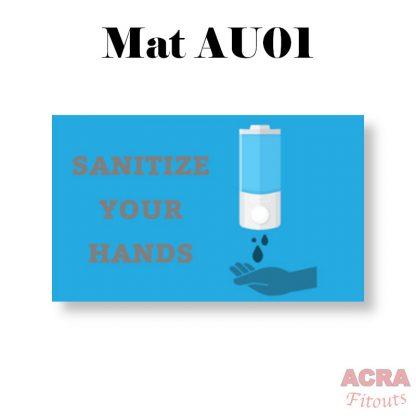 Social Distancing Mats ACRA