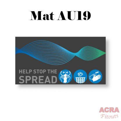 Social Distancing Mats - ACRA