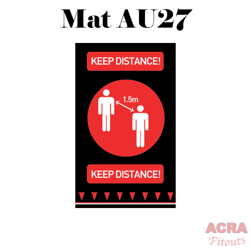 Social Distancing Mats