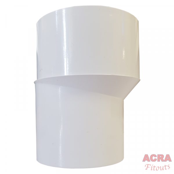 Trapped Shower Gully sheet wh (McAlpine)-ACRA