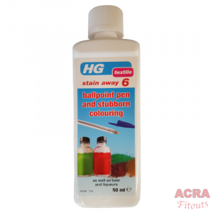 HG Textile Stain Away 6 for ballpoint pen and stubborn colouring - ACRA
