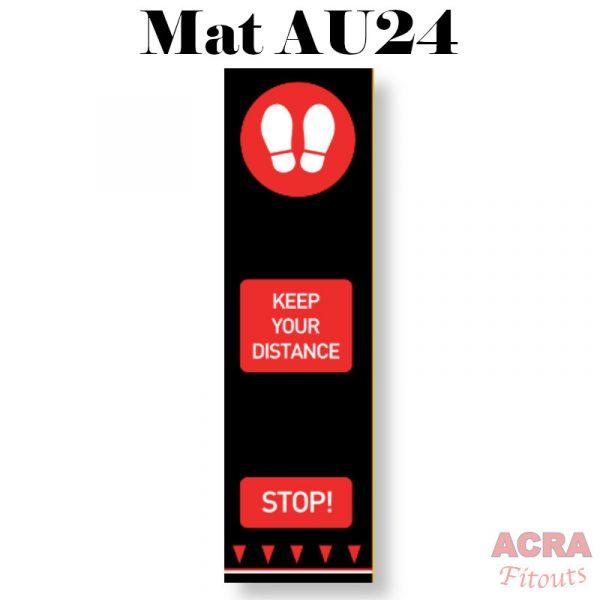 Social Distance Mat - AU24 - ACRA