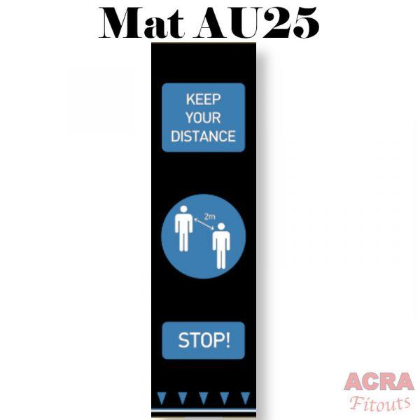 Social Distance Mat - AU25 - ACRA
