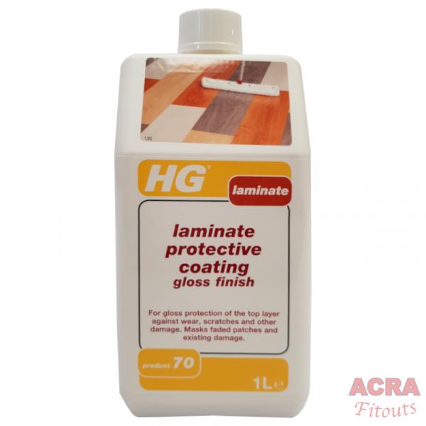 HG Laminate protective coating gloss finish - ACRA