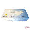 Clear disposable Gloves - ACRA