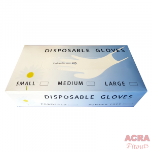 Clear disposable Gloves