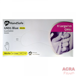 GN91 Glue Nitrile Examination gloves-ACRA