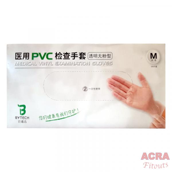 Medical Vinyl Examination Gloves - ACRA