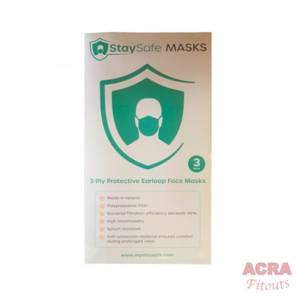 StaySafe Masks 3ply Made in Ireland-1