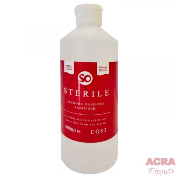 Sterile Alcohol hand Rub Sanitizer-ACRA