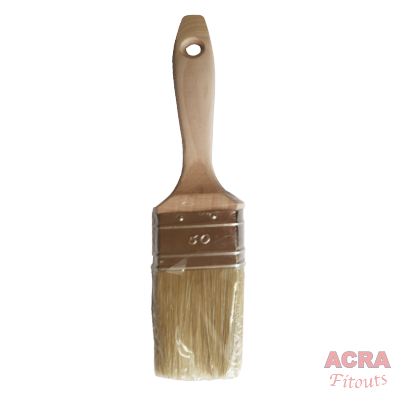 Dolphin paint brush 50mm with wooden handle-1