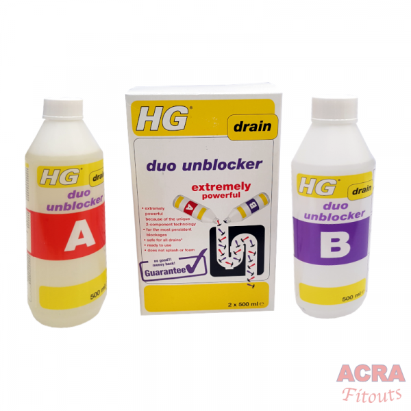 HG Duo Drain Unblocker - ACRA