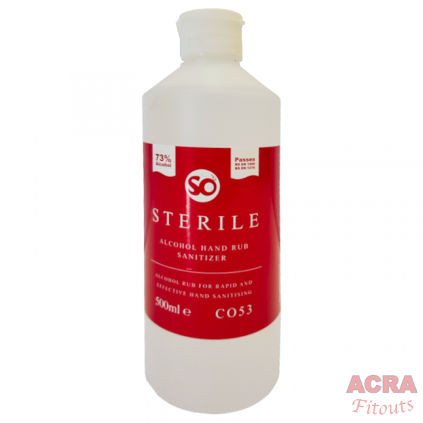 Sterile Alcohol hand Rub Sanitizer-ACRA