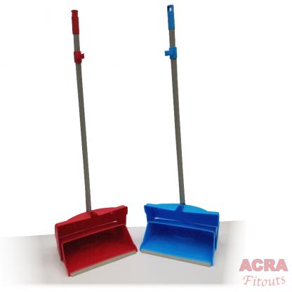 Hillrush Standing Dustpan and brush-ACRA