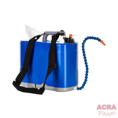 HWash Shoulder Sink mobile hand washing- Shoulder Strap ACRA
