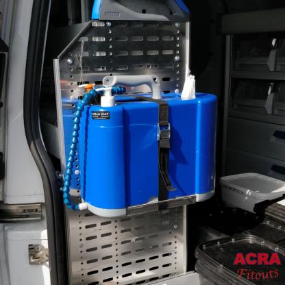 HWash Shoulder Sink mobile hand washing in vehicle - ACRA