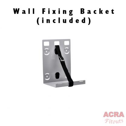 HWash Shoulder Sink - mobile hand washing - Wall fixing bracket - ACRA