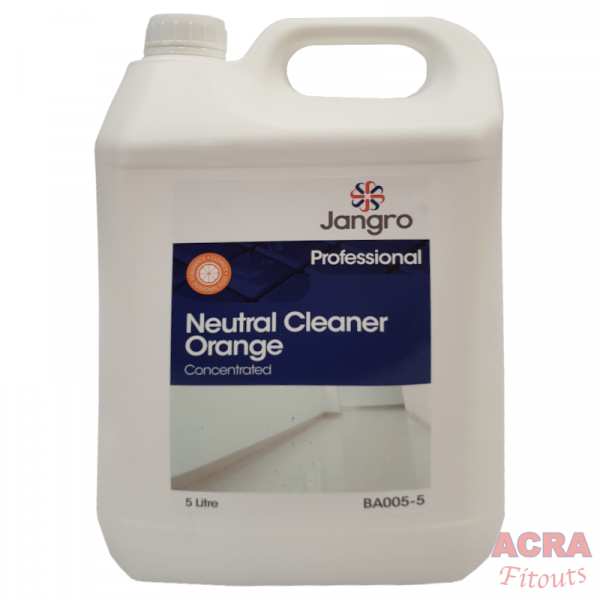Jangro Professional Neutral Cleaner Orange Concentrated-ACRA