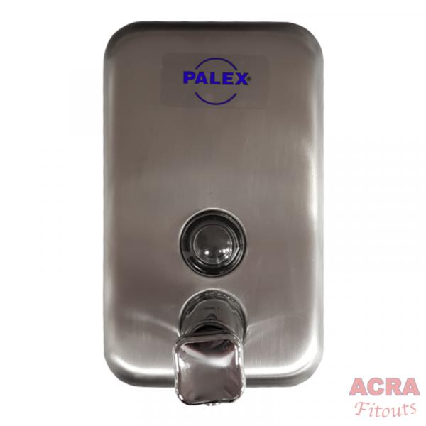 Palex Chrome Liquid Soap Dispenser 500cc-Front-ACRA