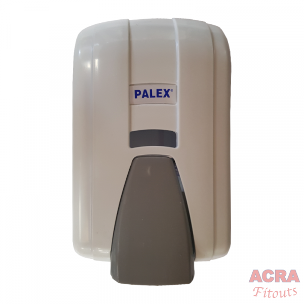 Palex Liquid Soap Dispenser 600cc - White and Grey-ACRA