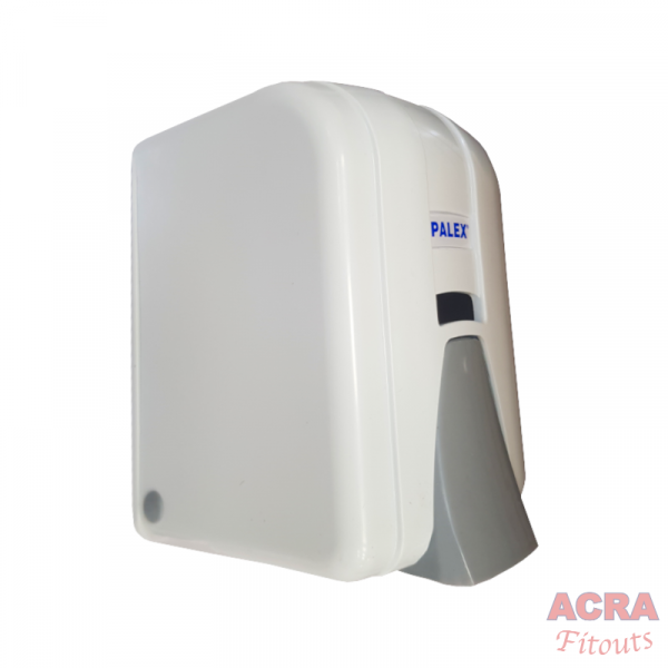 Palex Liquid Soap Dispenser 600cc - White and Grey-Side - ACRA