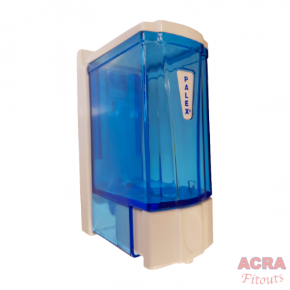 Palex Mini Soap Dispenser 250cc - Blue and White-ACRA