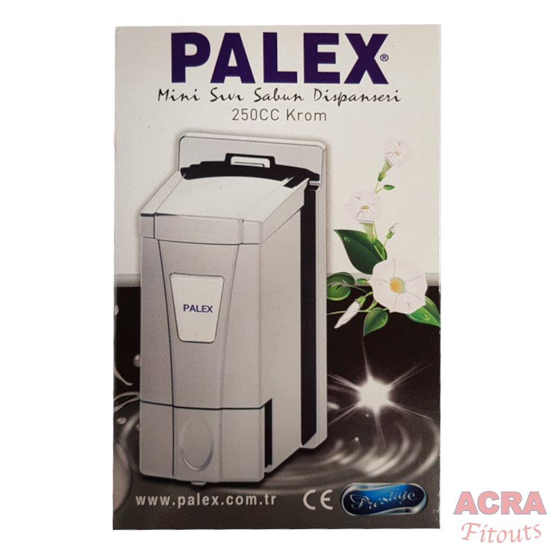 Palex Mini Soap Dispenser 250cc - Chrome-ACRA