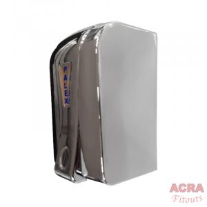 Palex Prestige Liquid Soap Dispenser 500cc - Chome-Side-ACRA