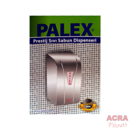 Palex Prestige Liquid Soap Dispenser 500cc - Chome-Box-ACRA