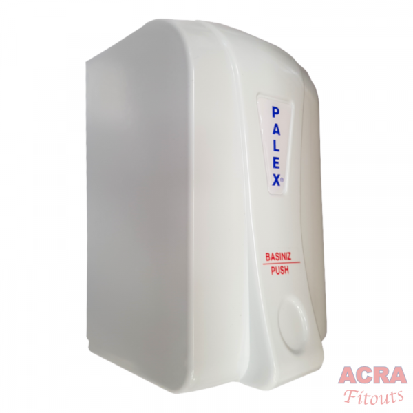 Palex Prestige Liquid Soap Dispenser 500cc - White-side - ACRA