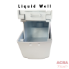 Palex Prestige Liquid Soap Dispenser 500cc - White-Liquid Well - ACRA