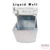Palex Prestige Liquid Soap Dispenser 500cc - White-Liquid Well - ACRA